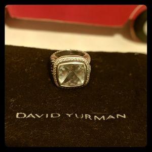 David YURMAN prasiolite diamond ring 7